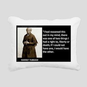 QUOTEPIC-HARRIET TUBMAN Rectangular Canvas Pillow