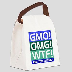 GMO callout Canvas Lunch Bag