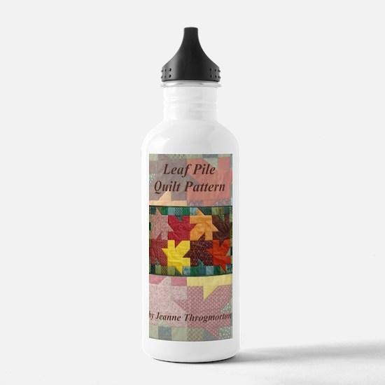 Leaf Pile quilt patter Water Bottle