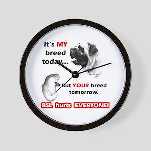 Mastiff BSL Wall Clock