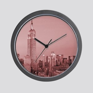 NYC, Empire State, Wall Clock