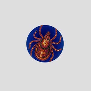 Lyme disease tick Mini Button