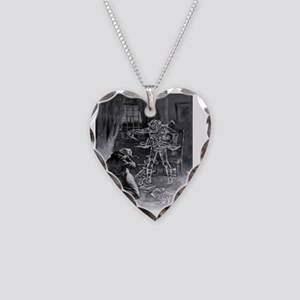 1 Necklace Heart Charm