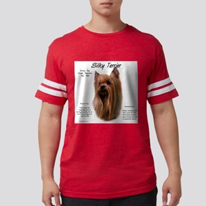Silky Terrier Mens Football Shirt
