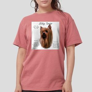 Silky Terrier Womens Comfort Colors Shirt