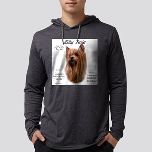 Silky Terrier Mens Hooded Shirt