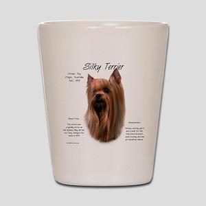 Silky Terrier Shot Glass