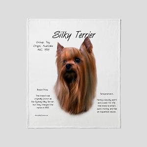 Silky Terrier Throw Blanket