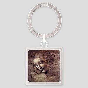 La Scapigliata - da Vinci Keychains