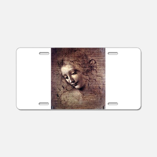 La Scapigliata - da Vinci Aluminum License Plate