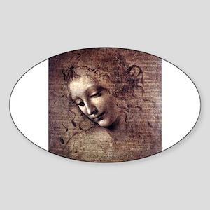 La Scapigliata - da Vinci Sticker