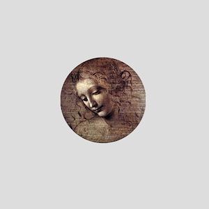 La Scapigliata - da Vinci Mini Button