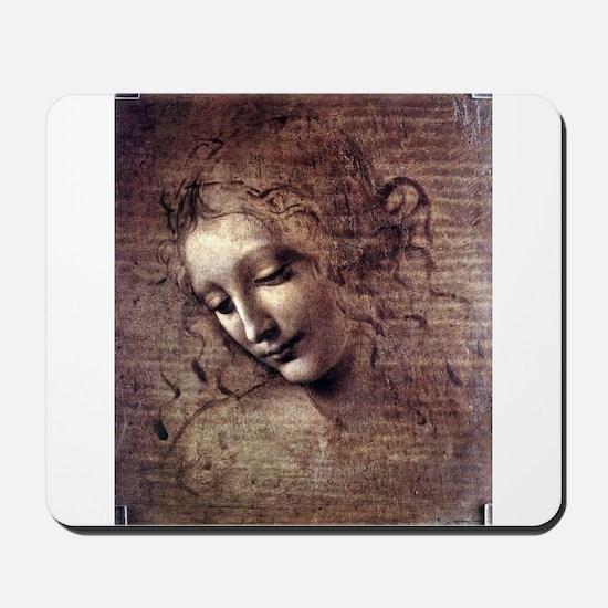 La Scapigliata - da Vinci Mousepad