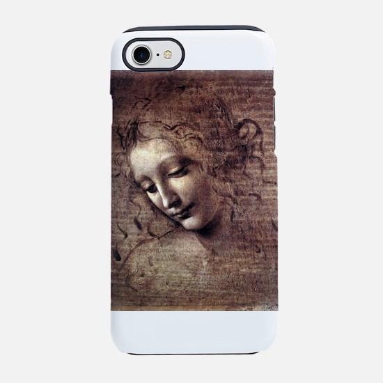 La Scapigliata - da Vinci iPhone 7 Tough Case