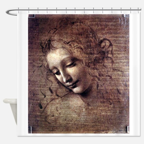 La Scapigliata - da Vinci Shower Curtain