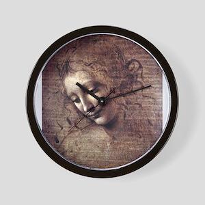 La Scapigliata - da Vinci Wall Clock