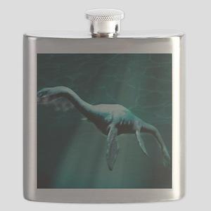 Loch Ness Monster Flask