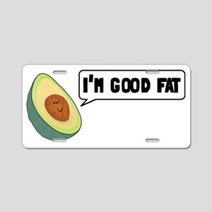 goodfat Aluminum License Plate