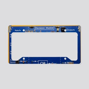 Logic gates License Plate Holder