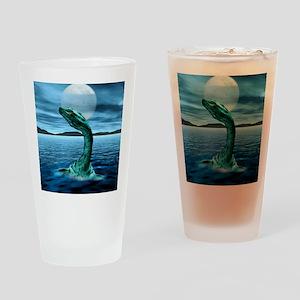 Loch Ness Monster Drinking Glass
