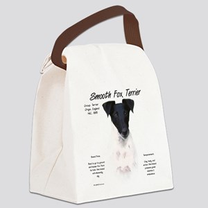 Smooth Fox Terrier Canvas Lunch Bag