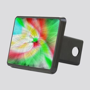 color burst Rectangular Hitch Cover