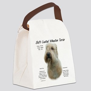 Soft Coated Wheaten Terrier Canvas Lunch Bag
