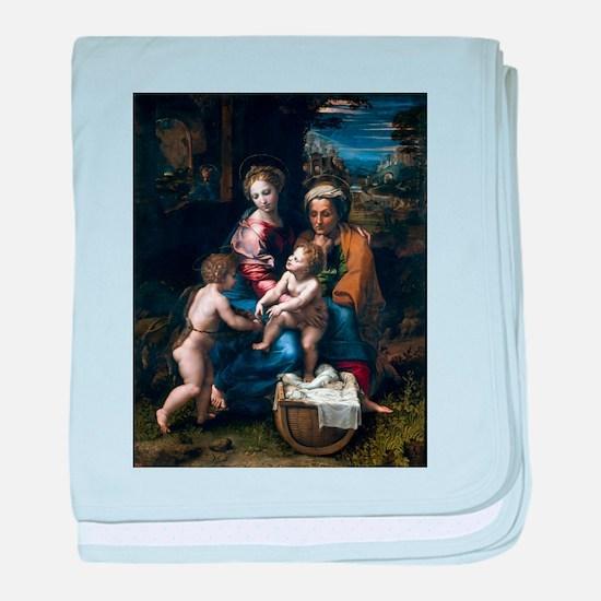 La Perla - Raphael baby blanket