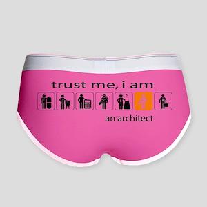 Trust me, I am an architect Women's Boy Brief