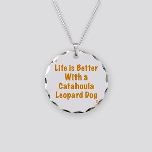 Life is better with a Cataho Necklace Circle Charm