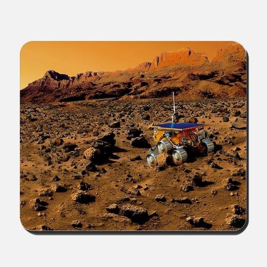 Mars exploration Mousepad