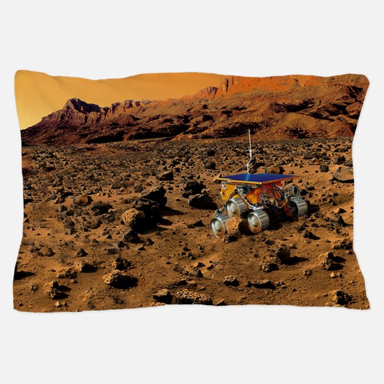 Mars exploration Pillow Case