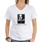Avon Calling! Women's V-Neck T-Shirt