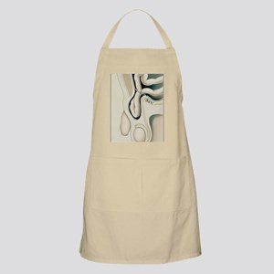 Artwork showing scrotum with inguinal hernia Apron