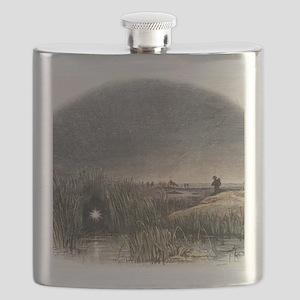 Marsh light Flask