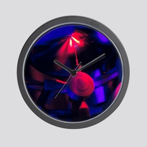 Mass spectrometer in protein research Wall Clock