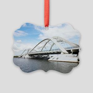 Memphis Arkansas bridge, Netherla Picture Ornament
