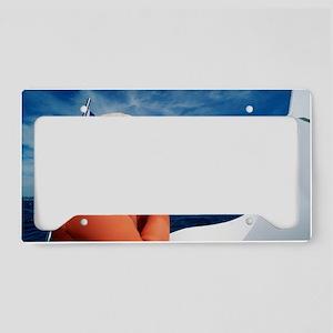 Marine archaeology License Plate Holder