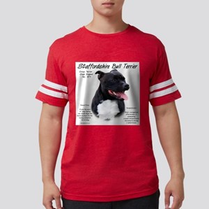 Staffordshire Bull Terrier Mens Football Shirt