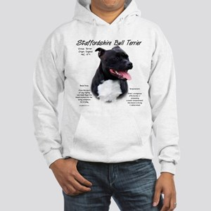 Staffordshire Bull Terrier Hooded Sweatshirt