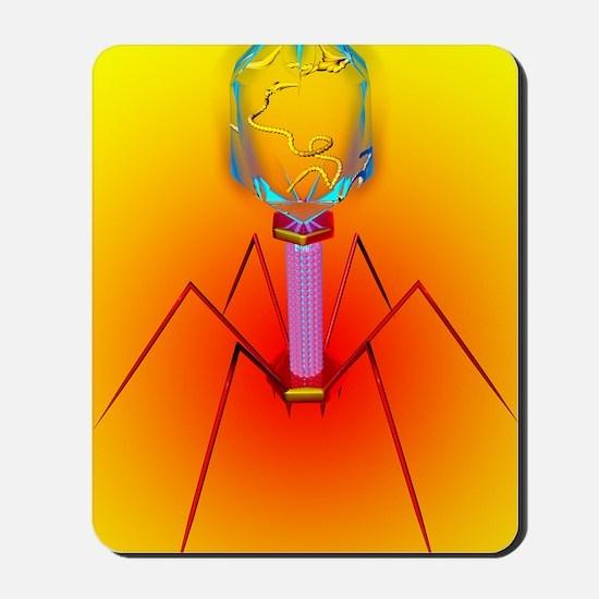 Bacteriophage Mousepad