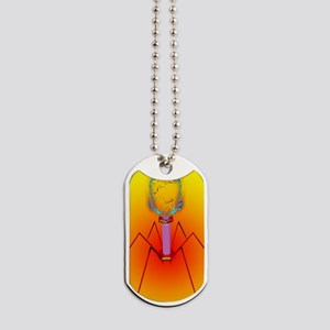 Bacteriophage Dog Tags