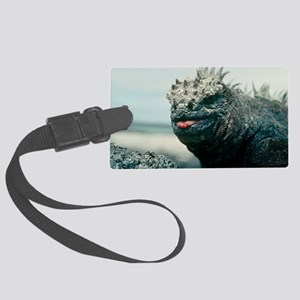Marine iguana Large Luggage Tag