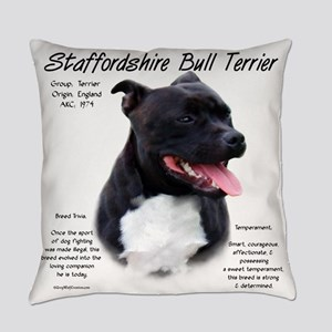 Staffordshire Bull Terrier Everyday Pillow