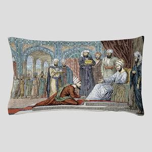Avicenna, Islamic physician Pillow Case