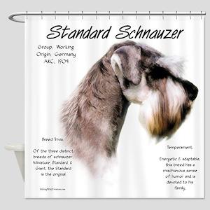 Standard Schnauzer Shower Curtain