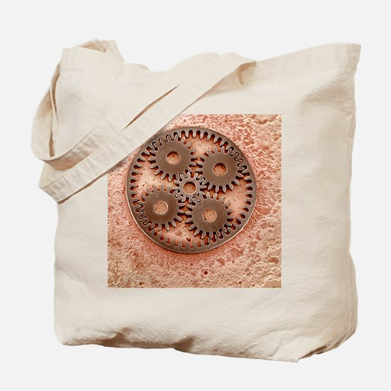 Microcogs Tote Bag
