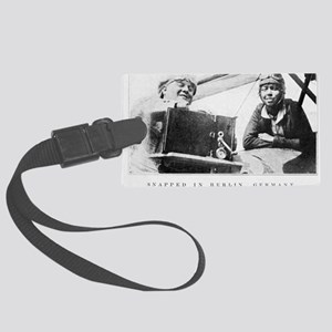 Bessie Coleman, US aviation pion Large Luggage Tag