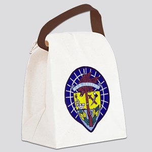 uss oriskany patch transparent Canvas Lunch Bag