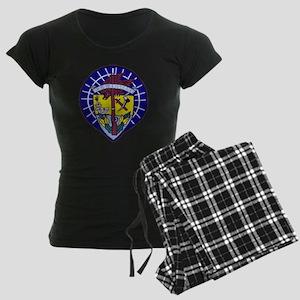 uss oriskany patch transpare Women's Dark Pajamas